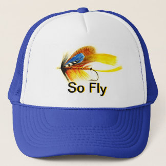 Fly Fishing Lure - So Fly Trucker Hat