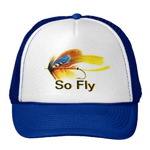 Fly Fishing Lure - So Fly Trucker Hat