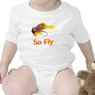 Fly Fishing Lure - So Fly Baby Bodysuits