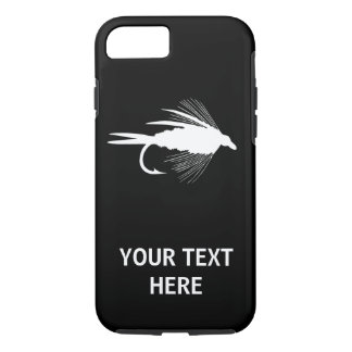 Fly Fishing lure to iPhone 8/7 Case