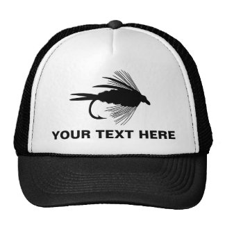 Fly Fishing lure to Personalize Mesh Hat