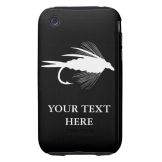 Fly Fishing lure to Personalize iPhone 3 Tough Cover