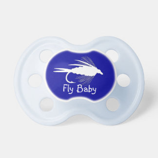 Fly Fishing lure to Personalize Pacifiers
