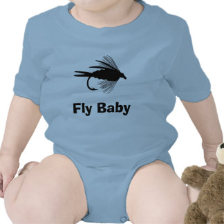 Fly Fishing lure to Personalize Romper