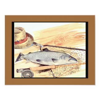 Fly Fishing lures and tackle Card