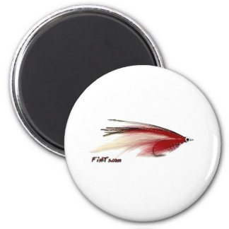 Fly Fishing Lures from the Tackle/Gear Collection 2 Inch Round Magnet