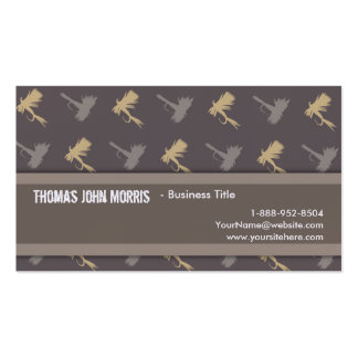 Fly Fishing Lures Pattern Business Card Template