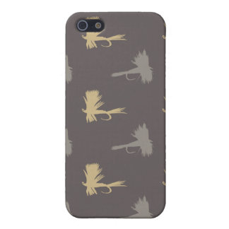 Fly Fishing Lures Pattern Cover For iPhone SE/5/5s