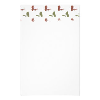 Fly Fishing Lures Pattern Stationery