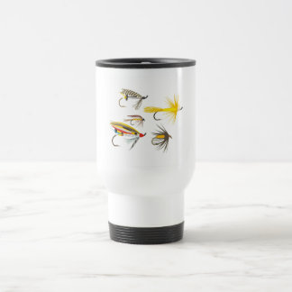 Fly Fishing Lures Travel Mug
