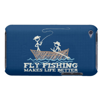 Fly Fishing Makes Life Better Barely There iPod Cover