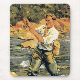 Fly Fishing Mousepad
