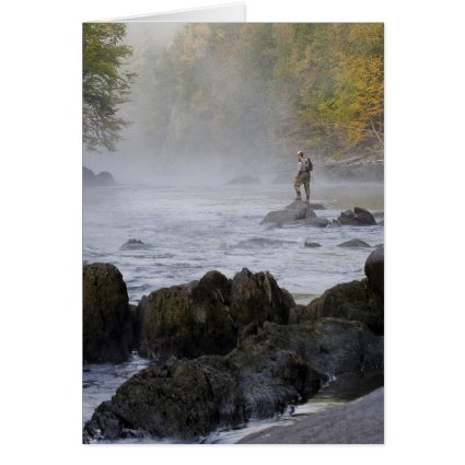 Fly Fishing Notecard Stationery Note Card