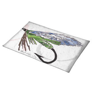 Fly Fishing Placemat