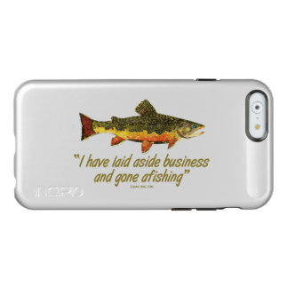 Fly Fishing Quote Incipio Feather Shine iPhone 6 Case