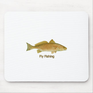 Fly Fishing Redfish Mouse Pad