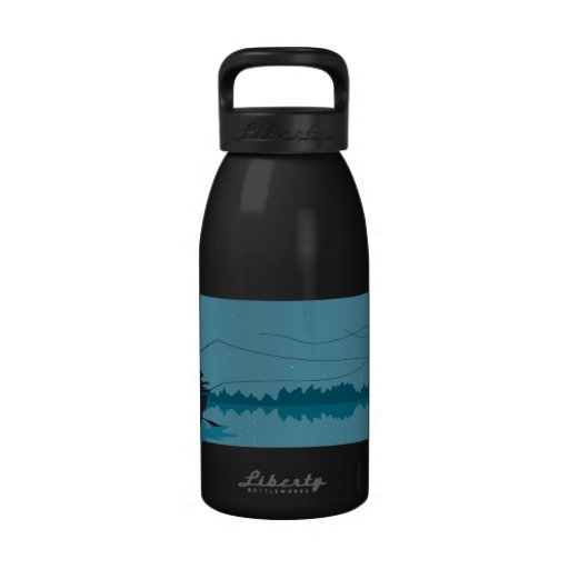 Fly Fishing Reusable Water Bottle