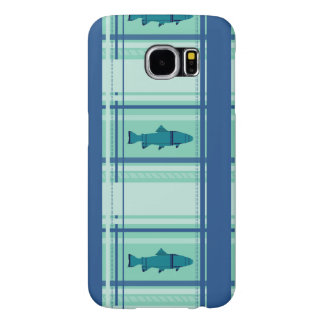 Fly Fishing Rods Pattern Samsung Galaxy S6 Case
