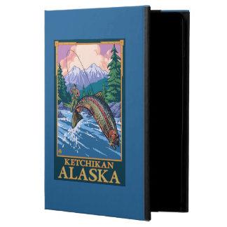 Fly Fishing Scene - Ketchikan, Alaska iPad Air Case