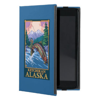 Fly Fishing Scene - Ketchikan, Alaska iPad Mini Cover