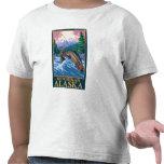 Fly Fishing Scene - Ketchikan, Alaska T Shirts