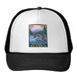 Fly Fishing Scene - Ketchikan, Alaska Trucker Hats