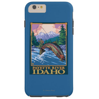 Fly Fishing Scene - Payette River, Idaho Tough iPhone 6 Plus Case