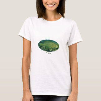 Fly Fishing Smallmouth Bass Logo T-Shirt