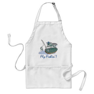 Fly Fishing T-shirts and Gifts Adult Apron