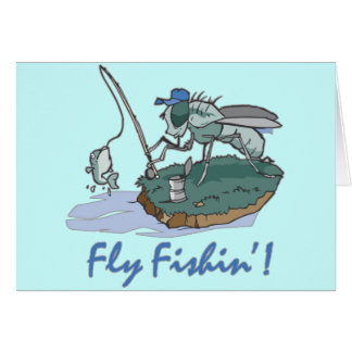 Fly Fishing T-shirts and Gifts Greeting Card