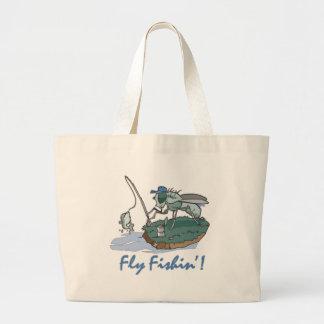 Fly Fishing T-shirts and Gifts Jumbo Tote Bag