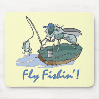 Fly Fishing T-shirts and Gifts Mouse Pad