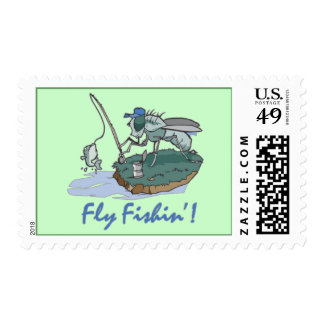 Fly Fishing T-shirts and Gifts Postage