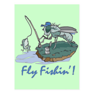 Fly Fishing T-shirts and Gifts Postcard