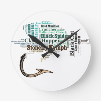 Fly Fishing Tee Shirts, Gifts and Novelties Wall Clocks