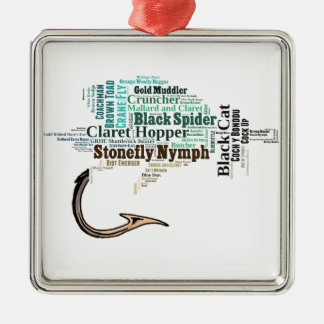 Fly Fishing Tee Shirts, Gifts and Novelties Metal Ornament