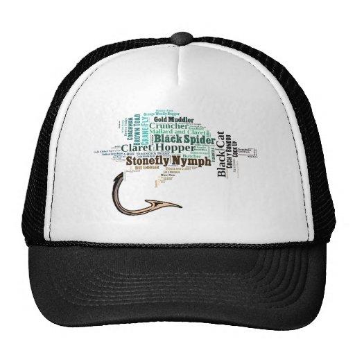 Fly fishing tee shirts gifts and novelties trucker hat for Fly fishing trucker hat