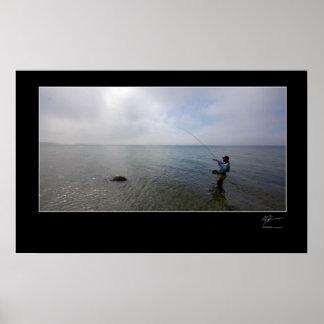 Fly-fishing the Danish coast Posters