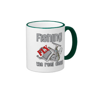 Fly  Fishing The Reel Deal Coffee Mugs