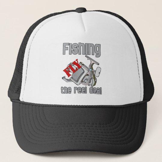 Fly  Fishing The Reel Deal Trucker Hat