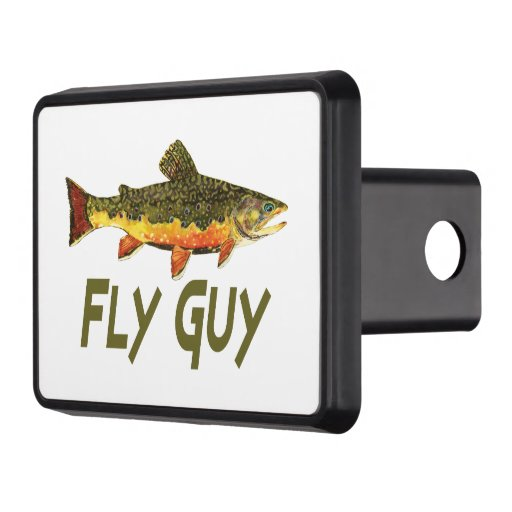 Fly fishing trailer hitch covers zazzle for Fish hitch cover