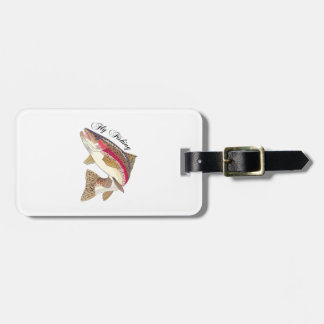 FLY FISHING TRAVEL BAG TAGS