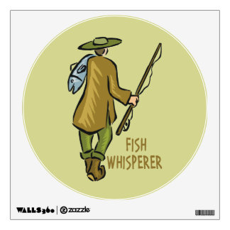 Fly Fishing Wall Sticker