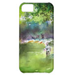 Fly Fishing Watercolor iPhone 5C Cover