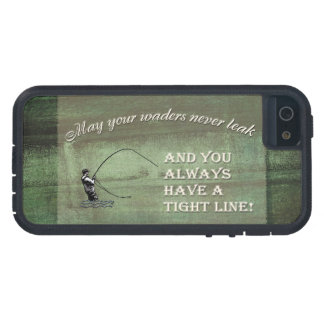 Fly fishing wish: May your waders never leak... iPhone 5 Cases