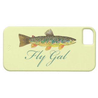 Fly Fishing Woman iPhone 5 Cases
