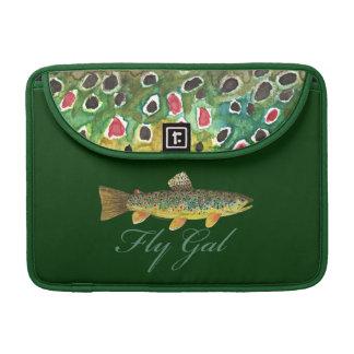 Fly Fishing Woman MacBook Pro Sleeve