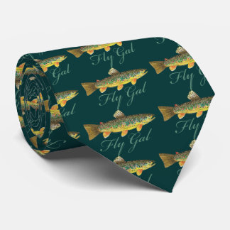 Fly Fishing Woman Tie