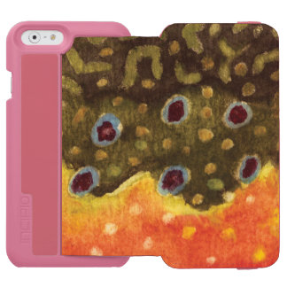 Fly Fishing Women iPhone 6/6s Wallet Case