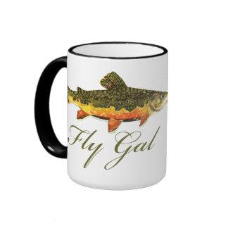 Fly Fishing Women Coffee Mugs
